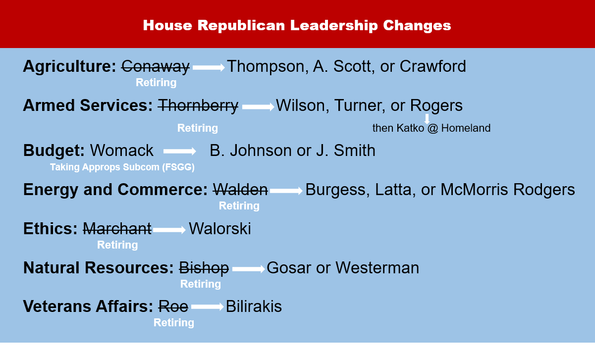 House Democratic Leadership Changes